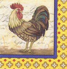 Amscan Rooster PAPER BEVERAGE NAPKINS USA