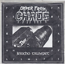 """ORDER FROM CHAOS - jericho trumpet EP 7"""" clear vinyl"""