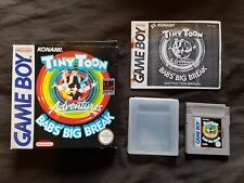 Tiny Toon Adventures Babs 'Big Break Nintendo Gameboy Jeu Original Boxed