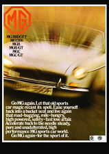 MG MGB 1969 RETRO POSTER A3 PRINT FROM CLASSIC ADVERT