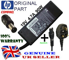 ORIGINALE HP 463955-001 463553-001 Laptop Power Supply 19V il 4,74 a 90W + Cavo UK