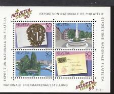 """SVIZZERA - BF - 1990 - Espos. Filat. nazionale """"HELVETIA GENEVE '90"""""""