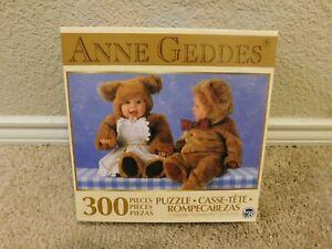 New TCG Anne Geddes Teddy Bears 300 piece jigsaw puzzle