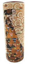Klimt Expectation Stocklet Frieze Ceramic Flower Bud Vase 7H VAS04KL Parastone