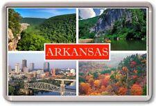 FRIDGE MAGNET - ARKANSAS - Large - USA America TOURIST