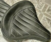 Royal Enfield Stylish Harley Style Liner Seat With Pillion Black For Bullet