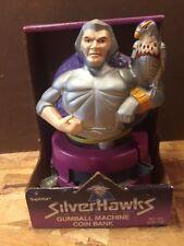 Silverhawks Beyond Rare Vintage Gumball Machine Coin Bank Action Figure NIB
