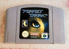 Perfect dark - jeu Nintendo 64 PAL / N64 / Spiel / Speel / game