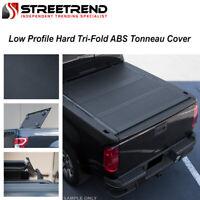 For 2014+ Silverado/Sierra 5.8' Low Profile Premium Hard Tri-Fold Tonneau Cover