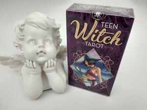 Tarot Teen witch, nouveauté octobre 2020 sous emballage  livret en Français
