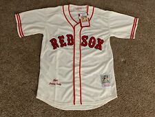 New! Johnny Pesky #6 Boston Red Sox's Cream Jersey Large