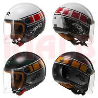 Casco Helmet Jet LS2 OF560 ROCKET II ROOK con visiera lunga per Moto e Scooter