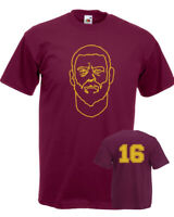 T-shirt DE ROSSI Roma 16 calcio capitano maglia uomo bambino magica stampa Boca