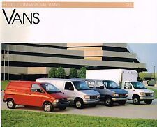 1993 Ford Commercial VANs Brochure : ECONOLINE,CLUB WAGON,AEROSTAR,F-Chassis,