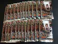 24x Naruto CCG/TCG Bandai Set 20 Tales of the Gallant Sage Sealed Booster Packs