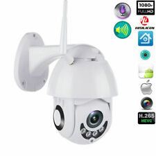 Wireless HD 1080P WiFi 5X ZOOM CCTV Outdoor IP Camera Home Security IR Webcam US