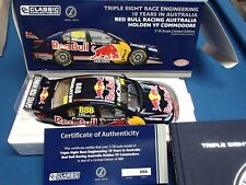 CLASSIC CARLECTABLES 1:18 888 10 YEARS IN AUSTRALIA RED BULL RACING VF LOWNDES