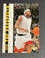 2003 Upper Deck Top Prospects GOLD #55 LEBRON JAMES ROOKIE RC Card RARE #'d/100