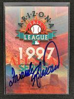 Frank Robinson Autograph Arizona Fall League Card Signed Auto Autographed HOF
