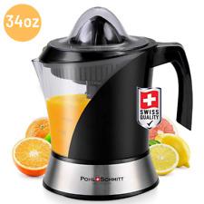 Electric Citrus Juicer Machine Fruit Lemon Orange Squeezer Extractor Juice Press