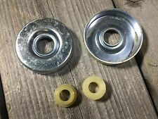 VINTAGE LEADER TRICYCLE HEADSET ASSEMBLY BUSHING AND COVERS KIDS BIKE CCM SEARS