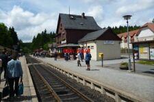 PHOTO  2012 GERMANY HARZ RAILWAY DRIE ANNEN HOHNE STATION