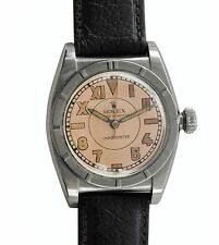 Vintage 1947 Rolex Bubble Back Oyster Perpetual Chronometer  Reference 3372