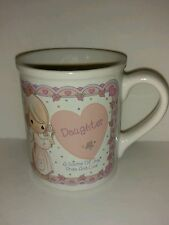 Vintage 1994 Previous Moments Coffee Mug Daughter Source of Joy and Love