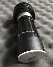 Kern Macro Yvar 150mm F3.3 Rare Cine Lens Modify to Nikon F Mount Full Frame
