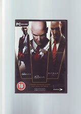 HITMAN: THE TRIPLE HIT PACK - 2 SILENT ASSASSIN, CONTRACTS & BLOOD MONEY PC GAME