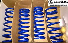 NEW OEM LEXUS 2014-2020 IS200T/IS250/IS350 RWD F-SPORT BLUE LOWERING SPRINGS