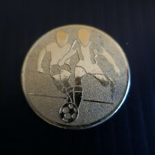 Médaille football métal doré sport collection vintage XXe N5287
