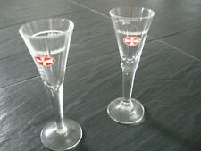 2 Malteserkreuz Aquavit Gläser Nur 2 von vieln Gläsern....
