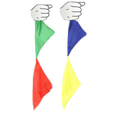 Color Changing Scarf Cloth Magic Trick Advanced Magician Kids Kit Parlor Hankie.