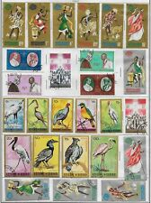 Burundi Stamps Collection of 57 All Different Used Issues