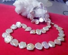 Collane e pendagli di lusso con perle bianche in oro bianco 14 carati