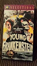 A Mel Brooks film 1974 Young Frankenstein with Gene Wilder VHS tape