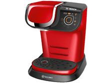 Cafetera de cápsula Bosch Tassimo TAS6003 MY WAY, rojo, automática, panel táctil