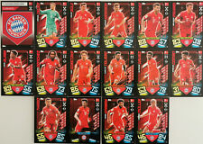 Match Attax Bundesliga 2019/2020 FC Bayern München Sammelkarten Trading Cards