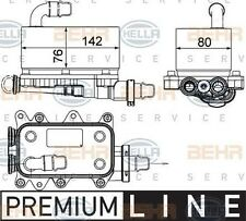 8MO 376 725-101 Hella Ölkühler Automatikgetriebe