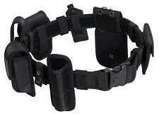 Tactical Police Law Enforcement Duty Belt Rig With Pouches Rothco 8350