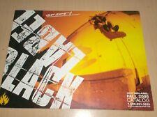 catalog vintage skateboard black label fall 2005 .H