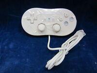 Old Skool Dual Analog Classic Controller for Nintendo Wii / WiiU - White