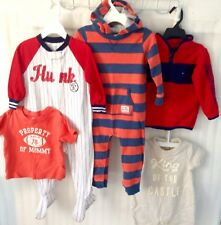 Baby Boy Clothes size 18/24 M Mixed Outfit Infant Lot of 5 Winter Fall Spring