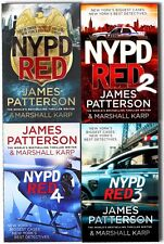 James Patterson NYPD Red Collection 4 Books Set Book 1-4 - Paperback