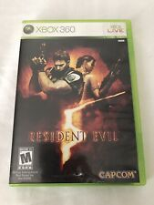 Resident Evil 5 Xbox 360 2009 Complete Tested Free Shipping