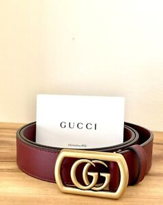 Gucci GG Belt in leather