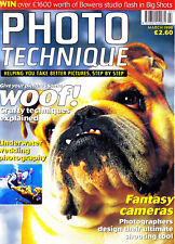 Photo Technique magazine with Olympus miju II  Yashica T5  Ricoh R1E  March 1998
