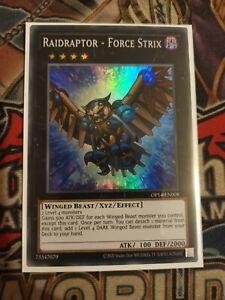 Raidraptor - Force Strix OP14-EN008 Super Rare Mint Condition