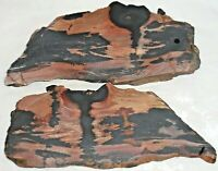 2 Gorgeous Indian Paint Rock Rare-No Longer Available Death Valley  #1722